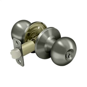 Portland Knob Entry - Antique Nickel