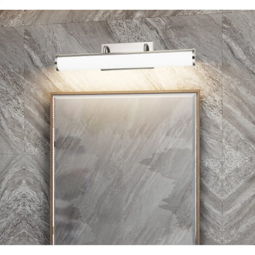 Integrated LED 26W, 1950 lumen, 80 CRI dimmable vanity light with acrylic diffuser