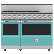 KRD485GD_48_5 Burner Dual Fuel Range w_Griddle_Bora Bora