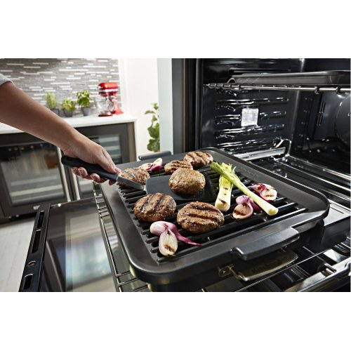 "Smart Oven+ 30"" Double Oven with Powered Attachments - Stainless Steel"