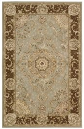 NOURISON 2000 2236 TAR RECTANGLE RUG 5'6'' x 8'6''