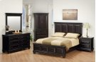 """Queen Bed With Low Footboard 70""""Wx58""""Hx86""""L Product Image"""