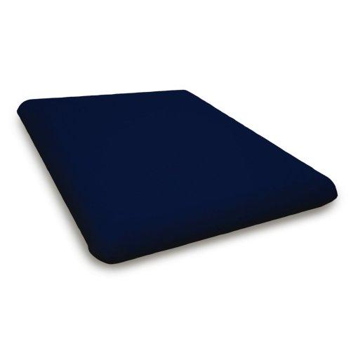 """Navy Seat Cushion - 17.5""""D x 20""""W x 2.5""""H"""