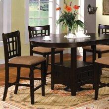 Metropolis Oval Counter Ht. Table