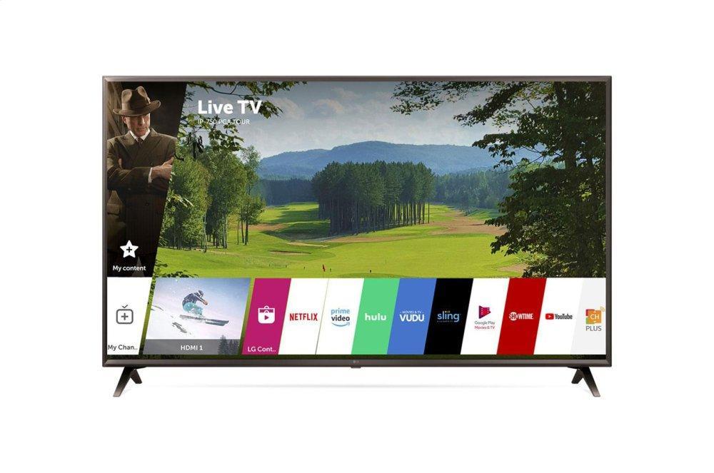 "UK6300PUE 4K HDR Smart LED UHD TV w/ AI ThinQ(R) - 49"" Class (48.5"" Diag)"
