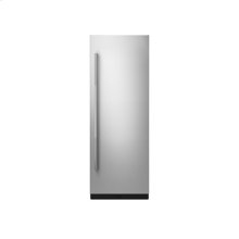 """30"""" Built-In Column Refrigerator with RISE Panel Kit, Right Swing"""