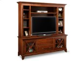 """Florence 75"""" HDTV Cabinet with Hutch"""