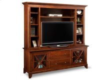 "Florence 75"" HDTV Cabinet with Hutch"