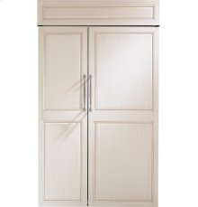 "Monogram 48"" Built-In Side-by-Side Refrigerator"