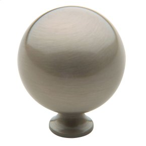 Satin Nickel Spherical Knob