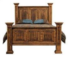 Rough Pine Queen Bed