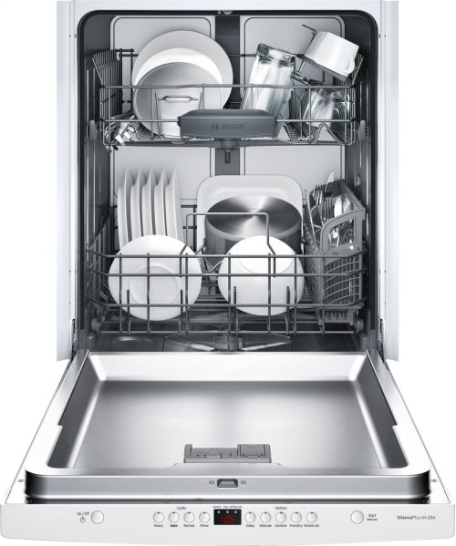 "24"" Scoop Handle Dishwasher 300 Series- White SHS63VL2UC"