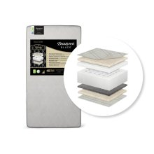 Beautyrest Black Solitaire 2-Stage Crib and Toddler Mattress