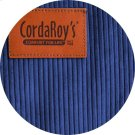 Cover for Pillow Pod or Footstool - Corduroy - Navy Blue Product Image