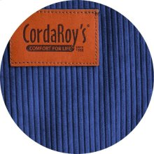 Cover for Pillow Pod or Footstool - Corduroy - Navy Blue