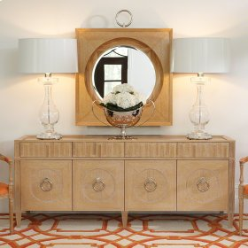French Key Everything Cabinet-Light Limed