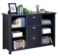 Three Drawer File/Bookcase