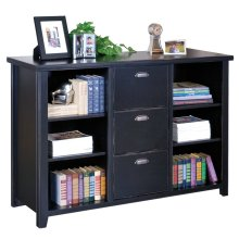 Three Drawer File/Bookcase