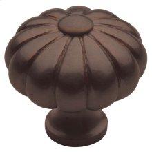 Venetian Bronze Melon Knob