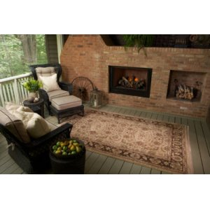 Toscano Brown Rectangle 8ft 8in X 10ft
