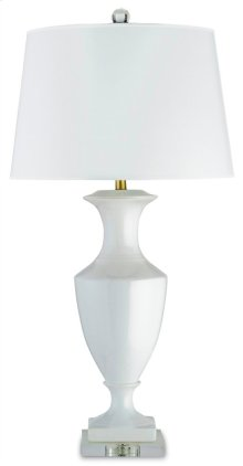 Timeless White Table Lamp