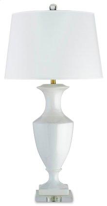 Timeless White Table Lamp