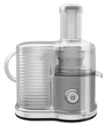 Easy Clean, Fast Juicer - Contour Silver