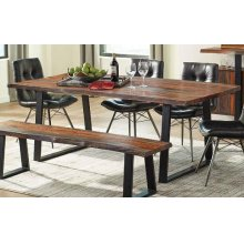 Jamestown Rustic Grey Dining Table