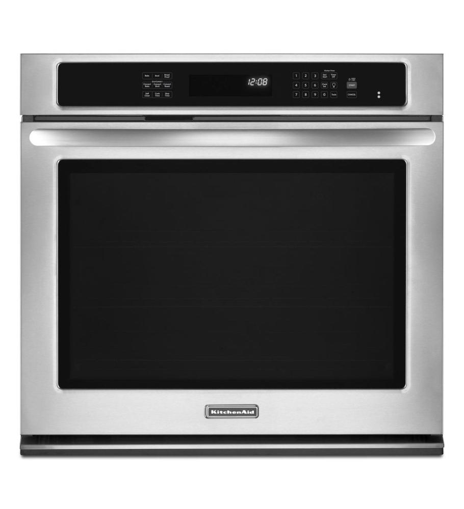 KitchenAid® 30Inch Convection Single Wall Oven, Architect  -> Kitchenaid Canada