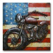 Open Road 39x39 Metal Art