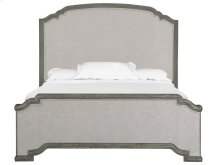 Complete Cal.King Panel Upholstered Bed