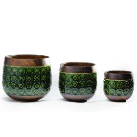 Circolare Cachepot - Set of 3