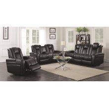 Delangelo Black Power Motion Two-piece Living Room Set