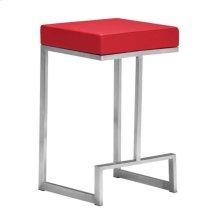 Darwen Counter Stool Red