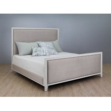 Avery Complete Bed with Fabric Sides Upholstered Bed