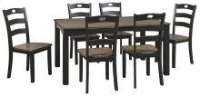 D338-425  Dining Room Table Set (7/CN)