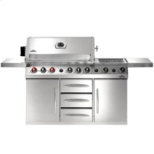 Gas Grill PF600 Prestige V Series- NG Stainless
