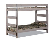 Twin/Twin One-Piece Bunk Bed w/Queen Rails
