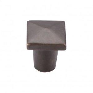 Aspen Square Knob 3/4 Inch - Medium Bronze