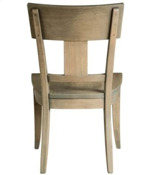 Thea Side Chair w/ Wood Seat