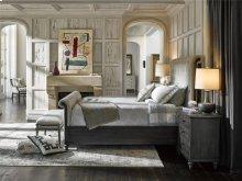Cute-as-a-Button King Sleigh Bed