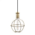 Colebrook Pendant - Aged Brass Product Image