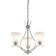 Keiran Collection Keiran 3 light Chandelier NI
