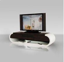 Modrest TV091 - Modern 2-Tone TV Entertainment Unit with Light