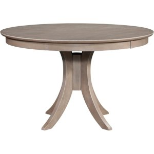 JOHN THOMAS FURNITURE30'' H Siena Pedestal Table in Taupe Gray