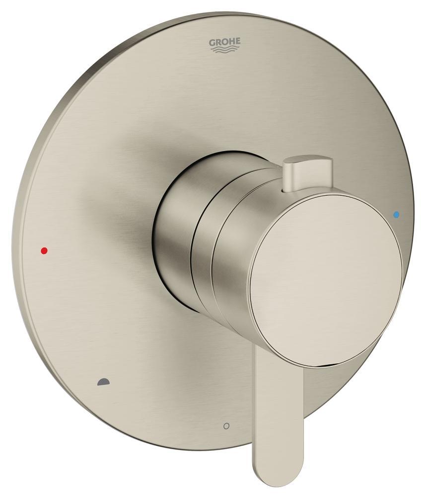 Europlus Dual function pressure balance trim with control module
