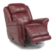 Brookings Leather Rocking Recliner