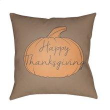 "Happy Thanksgiving HPY-003 20"" x 20"""
