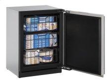"24"" Freezer Integrated Solid Left-Hand Hinge"