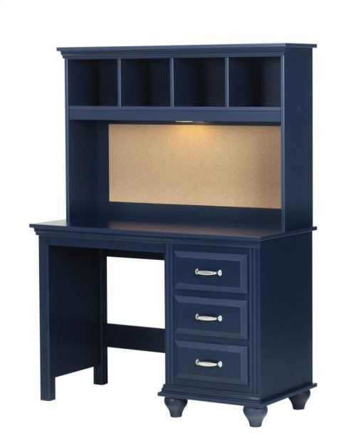 Desk and Hutch [MAD-07 445, HT4531]